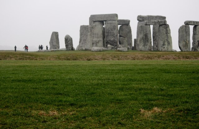 People react differently to Stonehenge.