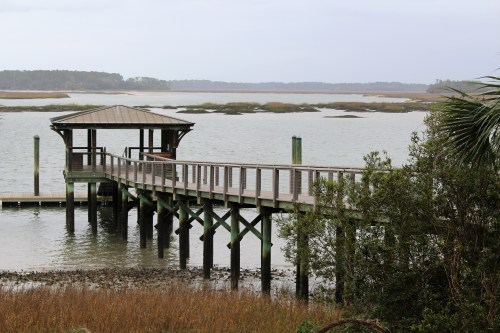 Spring comes to the waterfront at Palmetto Bluff, South Carolina.