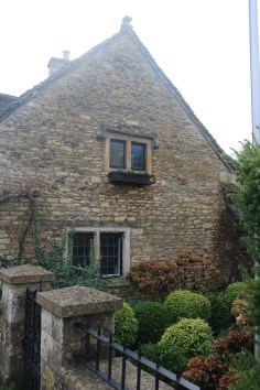 Brick side of home in The Cotswolds