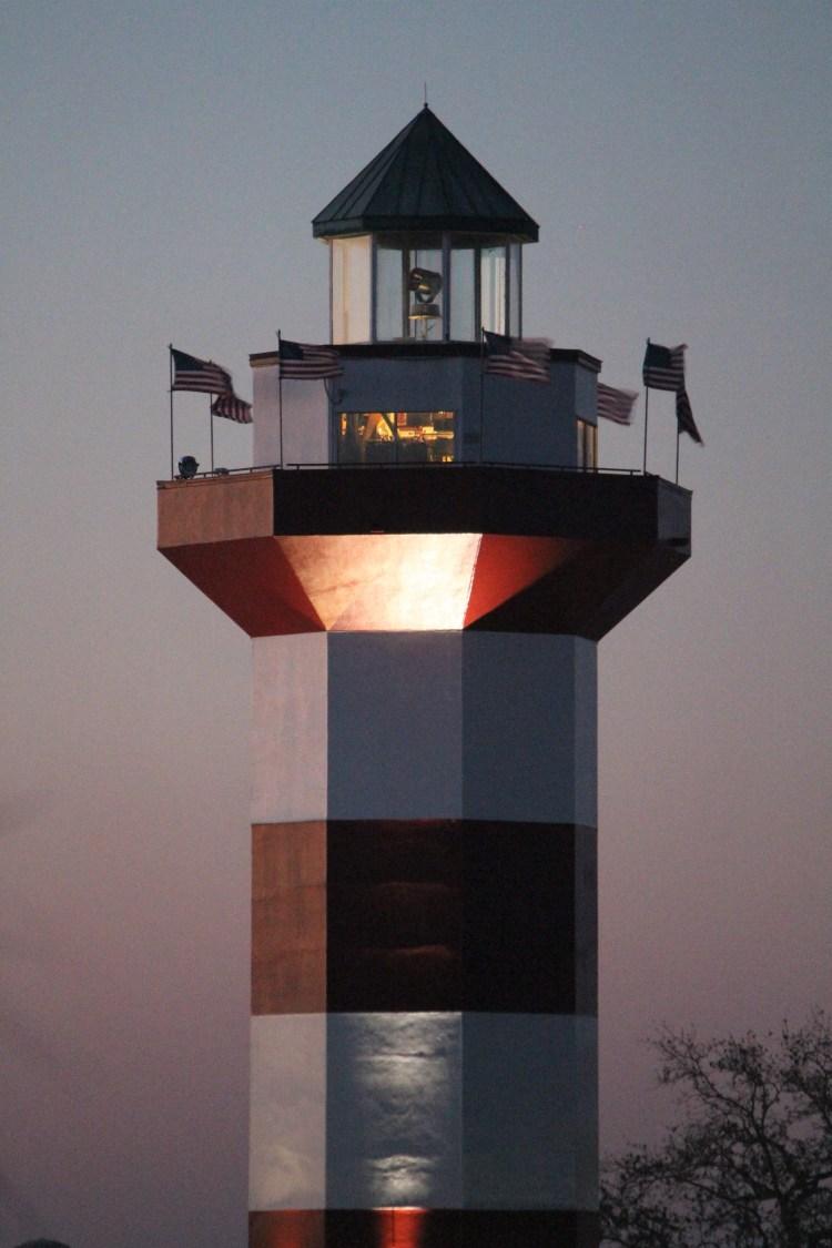 Sundown at Harbor Town, Hilton Head Island