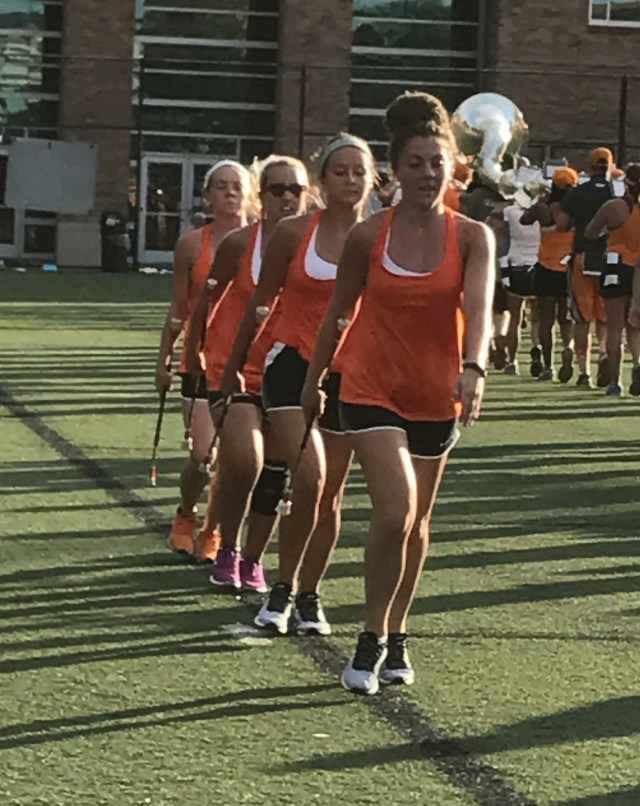 Drilling for perfection: majorettes of Pride of the Southland Band