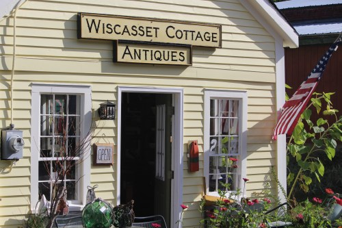 Charming home of Wiscasset Cottage Antiques