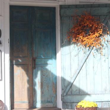 Front door -- Marston House
