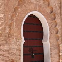 Doorway at Koutoubia Mosque