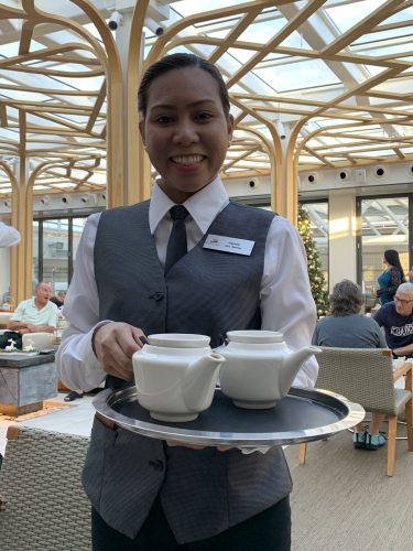 Served at 4 p.m. each day in Wintergarden: Afternoon Tea