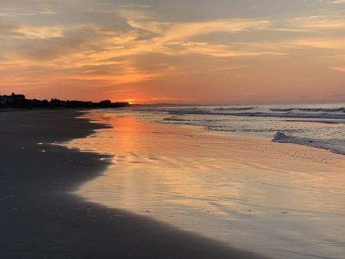 Kiawah emerging light of sunrise sams