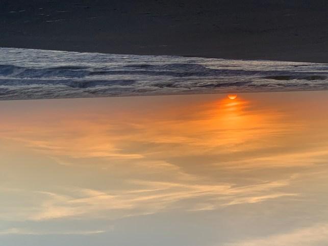 Golden sunrise, Pawleys Island SC
