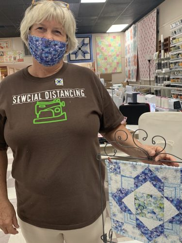 Sewcially Distancing at Bernina In Stitches, Johnson City, TN