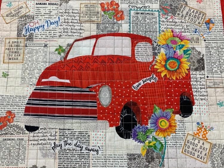 Car quilt at Sewing Bee, Jonesborough TN