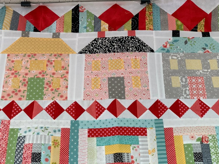 House quilt farmhouse colors - Gina's Bernina, Knoxville TN