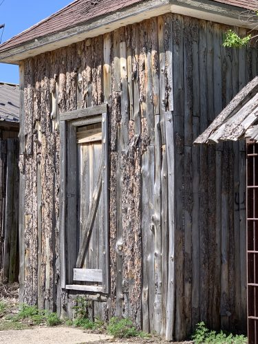 Weathered door, Scenic SD