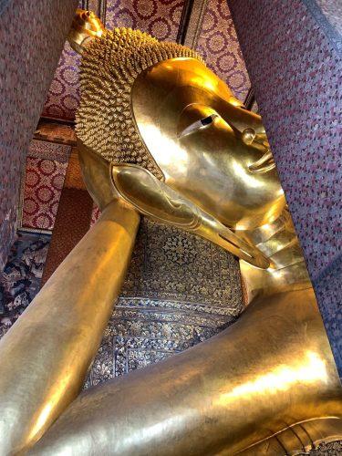 Reclining Buddha in Wat Pho, Bangkok