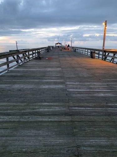 Pawleys Pier at dawn, Pawleys Island SC