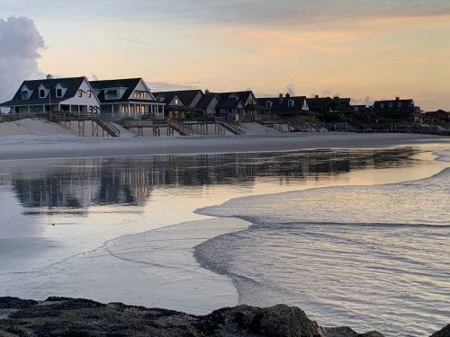 South End beach at Pawleys Island SC, 2019