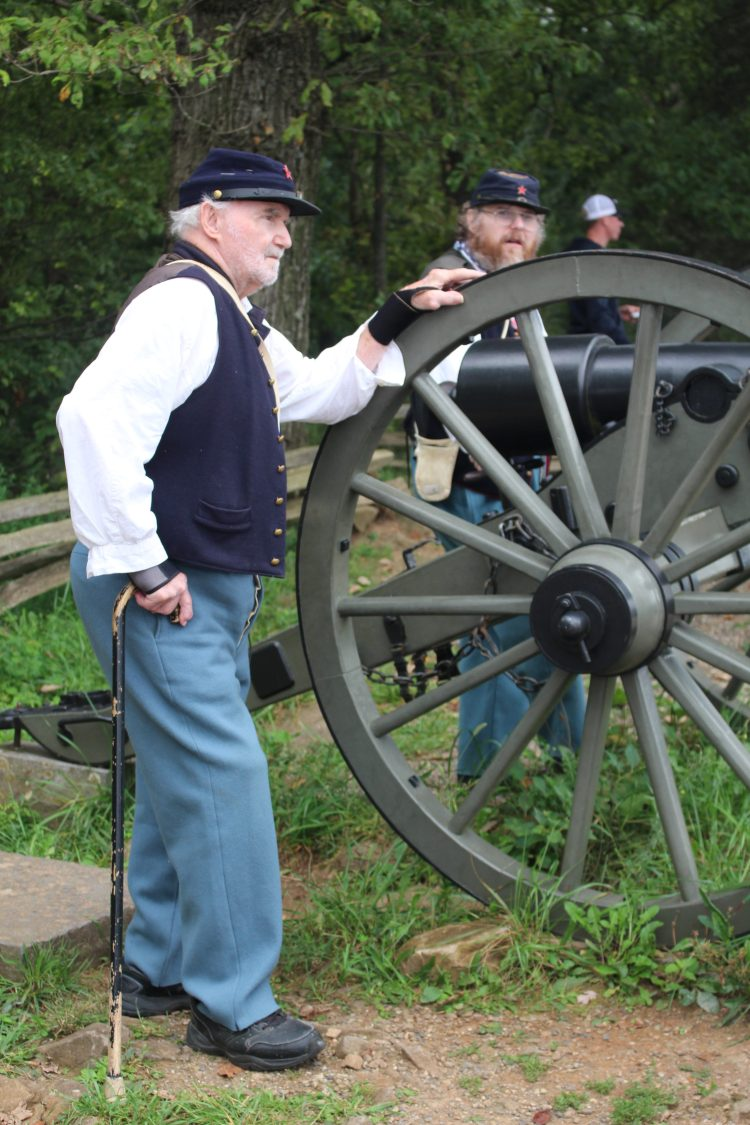 Re-enactors at Gettysburg National Park