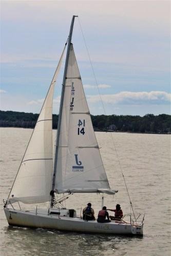 Sailboat at Annapolis, MD