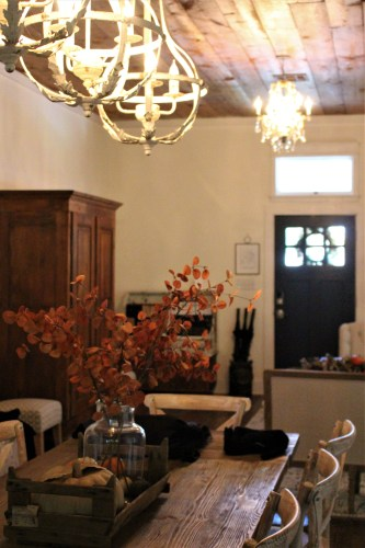 Dining room -- My 100 Year Old Waco Home