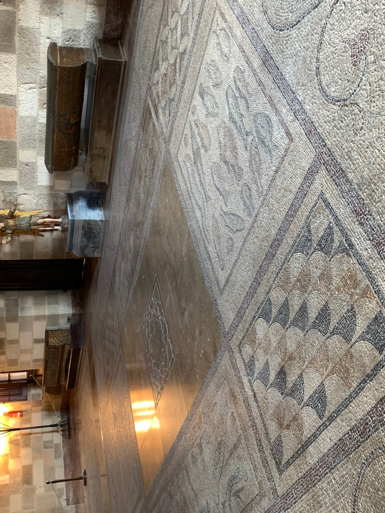 Mosaic floors: Palace of the Grand Masters