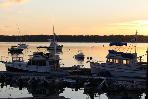 Harbor sunrise, Castine, Maine