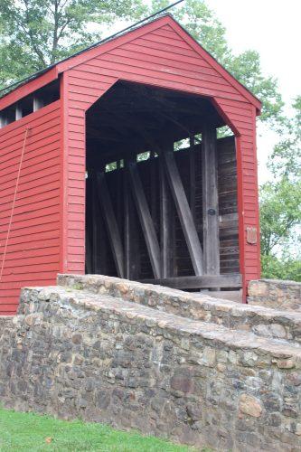 Loys Station Covered Bridge closeup