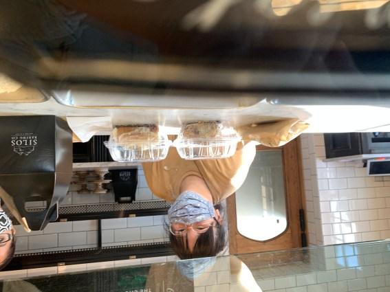 Server at Silos Baking Co, Waco, TX