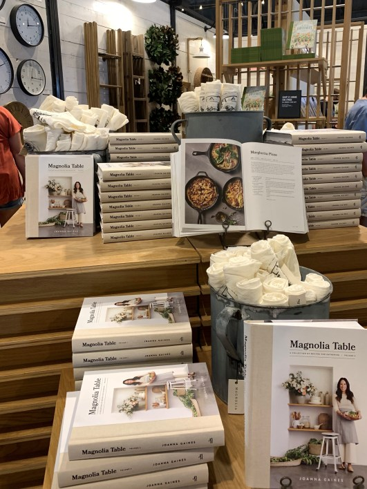 Magnolia Table cookbooks, Magnolia Market, Waco TX