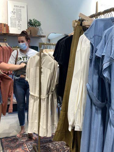 Dresses in Magnolia shops of Waco, TX