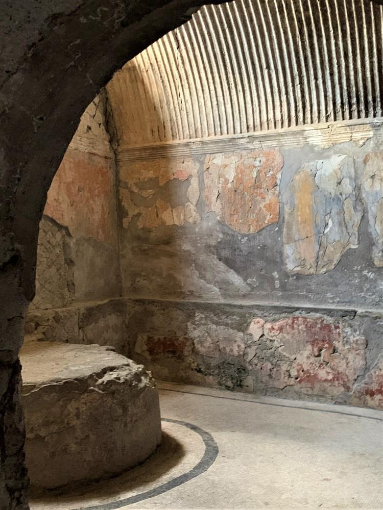 Herculaneum -- shower remains