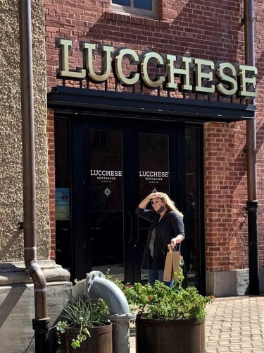 Lucchese in Ft. Worth Stockyards