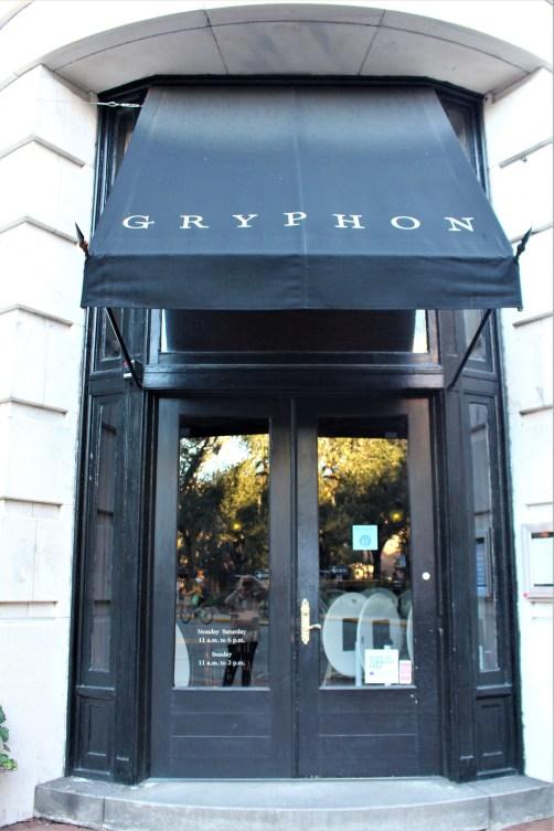Gryphon restaurant, Savannah, GA
