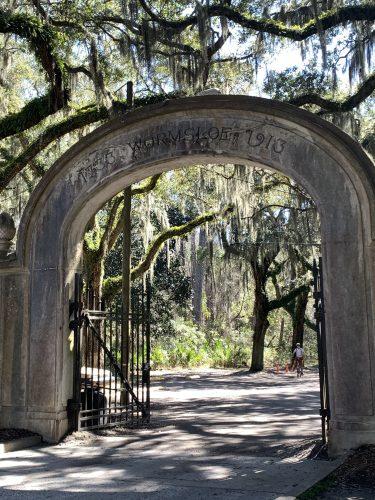 Entryway, Wormsloe Historic Site, GA