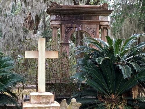 Mercer family graves, Bonaventure Cemetery