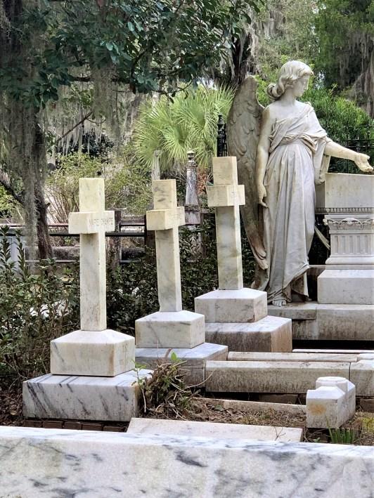 Bonaventure Cemetery family plot