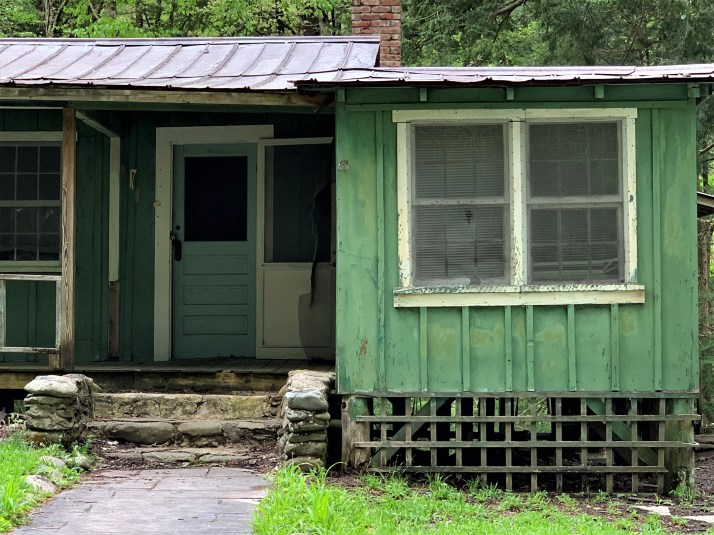 Elkmont Green house, Great Smoky Mountains