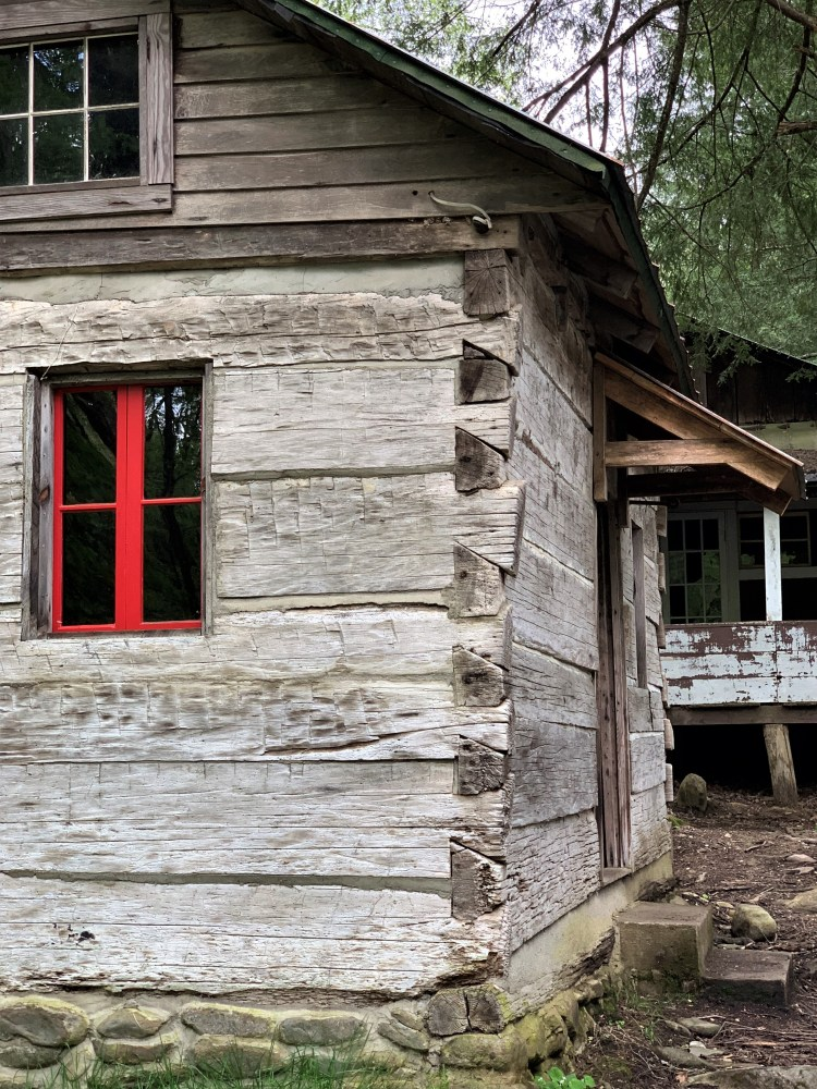 Side View, Levi Trentham House, Elkmont in Great Smokies