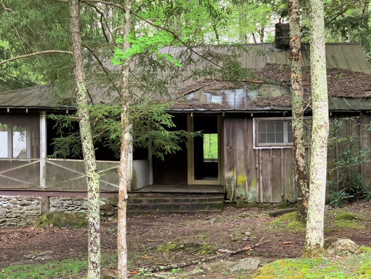 Elkmont abandoned house, Great Smoky Mountains