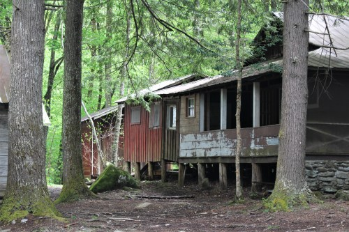 Elkmont, Great Smoky Mountains - abandoned houses