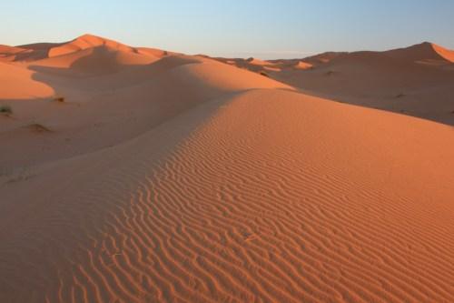 Sunrise, Sahara Desert, Morocco