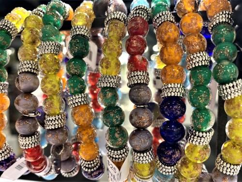 Corning Museum Beaded Glass Bracelets