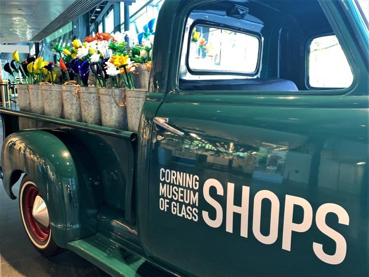 Corning Museum Shop truck