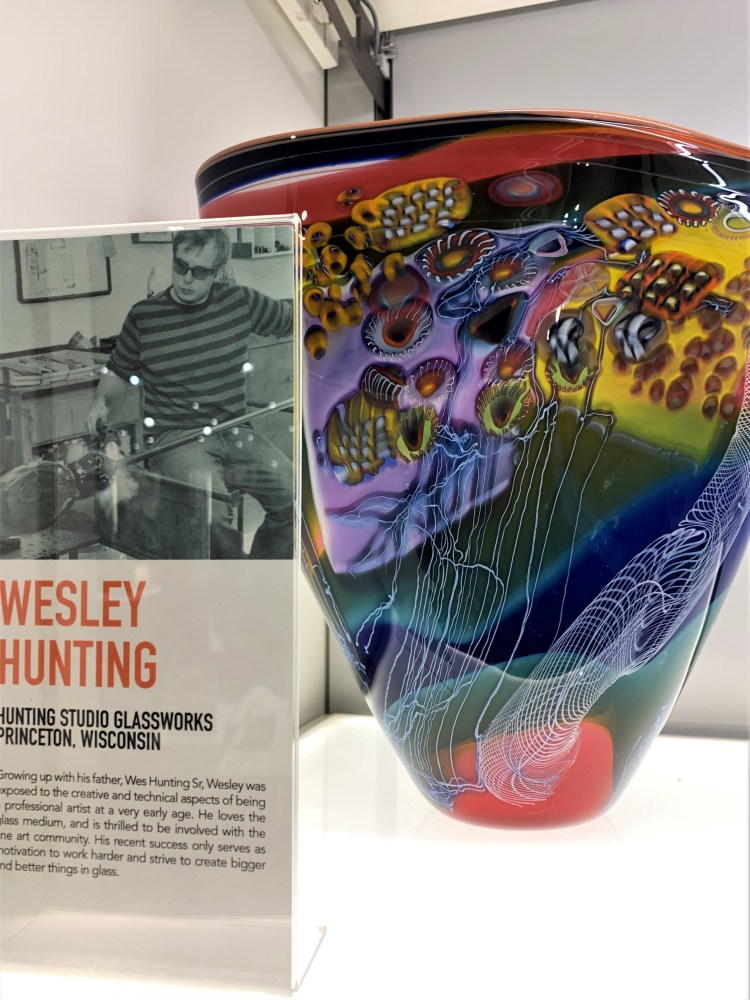 Wesley Hunting Vase Corning Museum