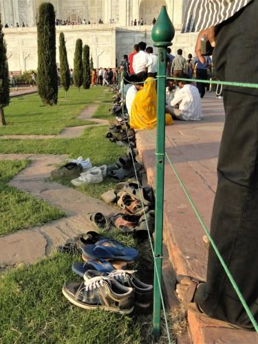 Taj Mahal shoes