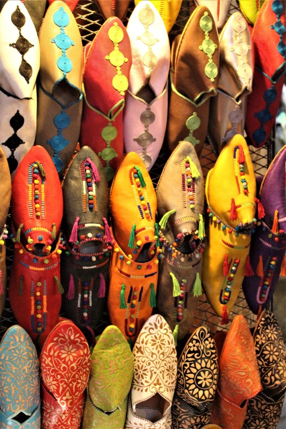 Leather shoes, Marrakesh Morocco