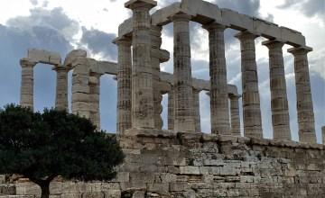 Temple of Poseidon at Cape Sounion, Greece