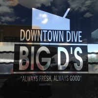 Cruise into Big D's Downtown Dive if you're hungry in Roswell!