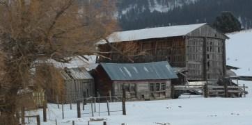 Once active, now abandoned along Idaho 55