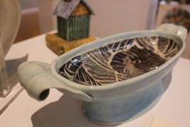 """Janet Harper: """"Oblong Pedestaled Bowl"""""""