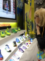Neon shoes -- big favorites