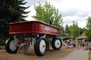 Spokane's Red Wagon