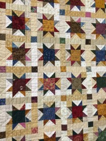 Autumn tones in this quilt from Pappy's Quilting Place, Maryville